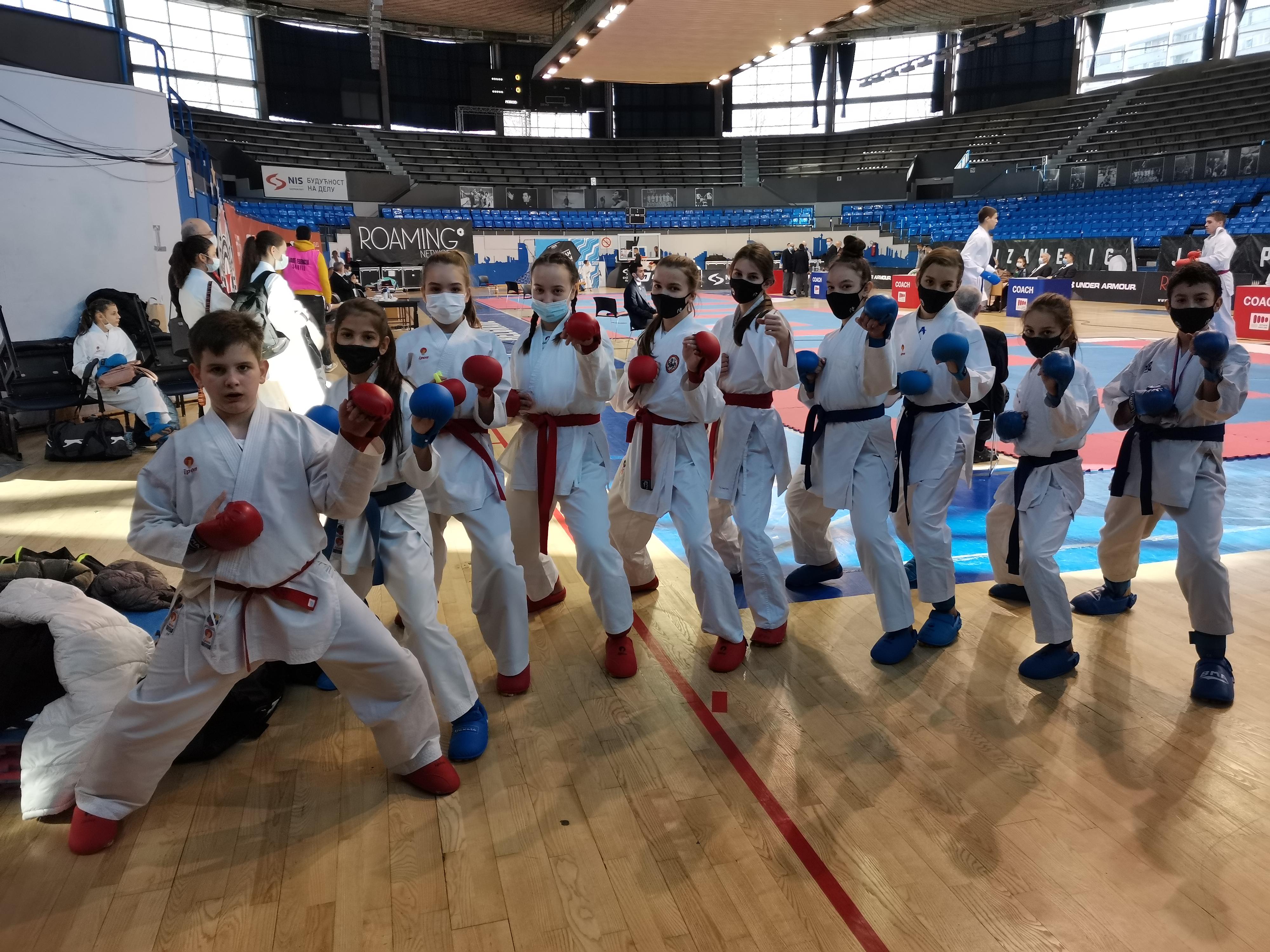 Šampioni sa prvenstva Beograda!